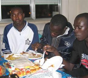 ci si ritrova dopo l'estate: cena di inizio corso, autunno 2006