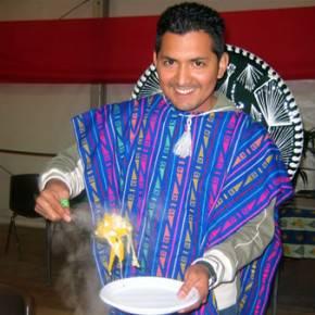 Antonio e il suo piatto messicano