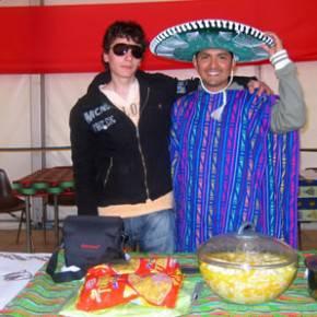 Tiberio e Antonio in perfetta tenuta messicana