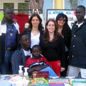 Segavecchia 2007: alcuni dei ragazzi della scuola di italiano